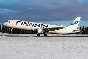 OH-LZA - Finnair Airbus A321