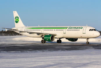 D-ASTW - Germania Airbus A321
