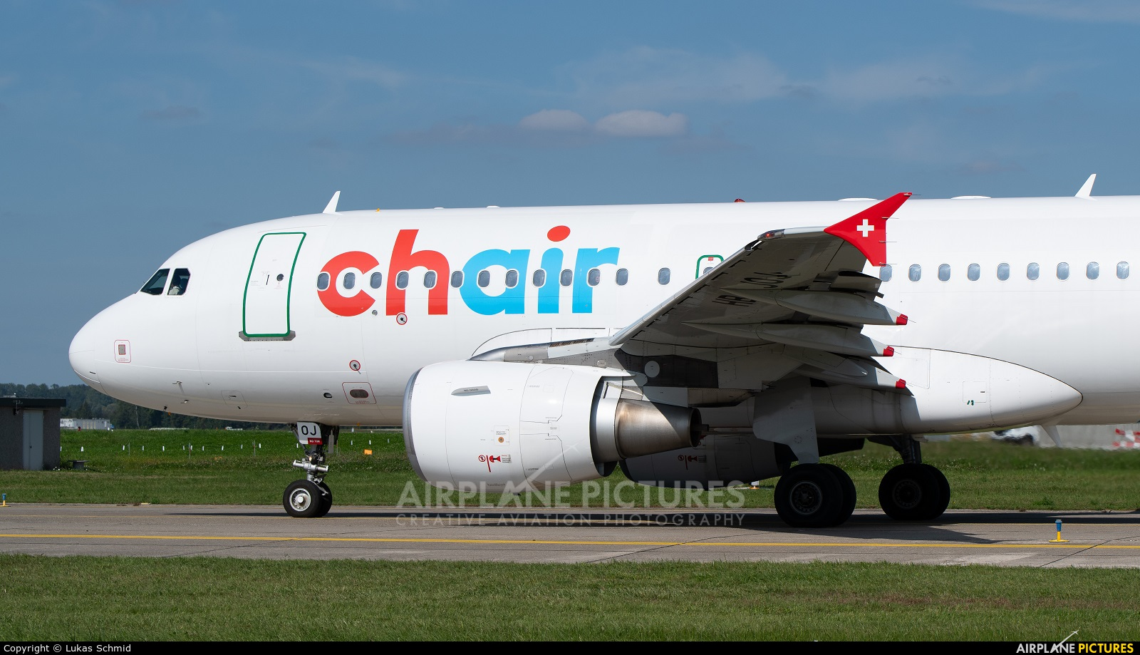 Chair Airlines HB-JOJ aircraft at Zurich