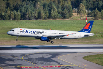 TC-ONJ - Onur Air Airbus A321