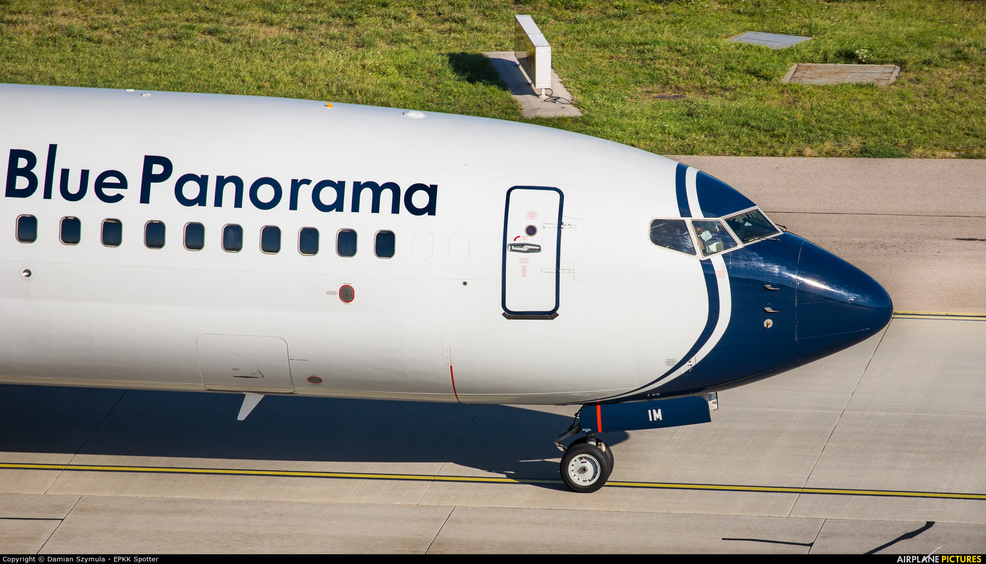 Blue Panorama Airlines EI-GIM aircraft at Katowice - Pyrzowice