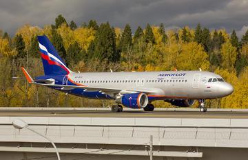VQ-BTX - Aeroflot Airbus A320