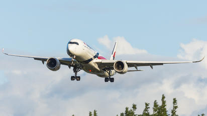 9M-MAE - Malaysia Airlines Airbus A350-900