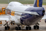 Rare visit of Atlas Air B744 to Eindhoven title=
