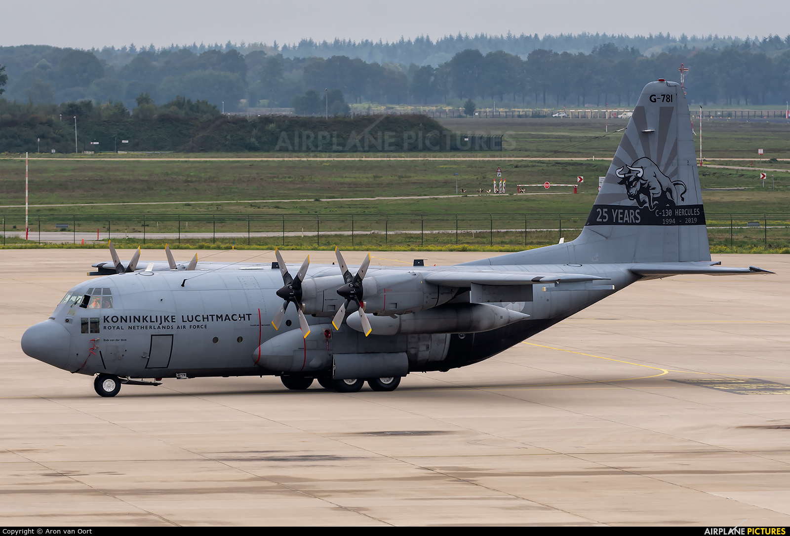 Netherlands - Air Force G-781 aircraft at Eindhoven