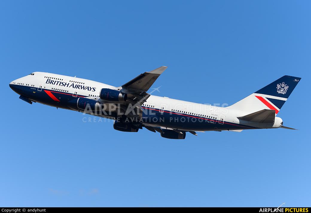 British Airways G-BNLY aircraft at London - Heathrow