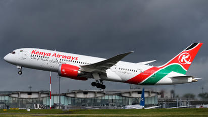 5Y-KZJ - Kenya Airways Boeing 787-8 Dreamliner