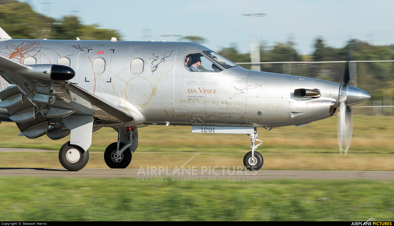 Pilatus HB-FVM aircraft at Lausanne - La Blécherette