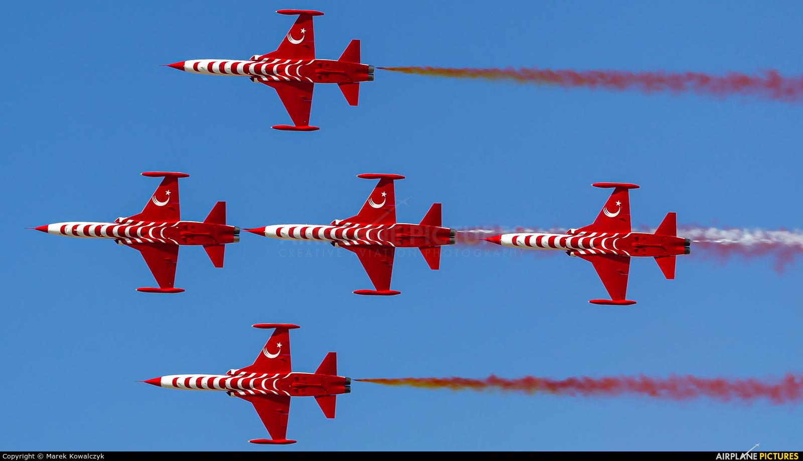 Turkey - Air Force : Turkish Stars 70-3025 aircraft at Kecskemét