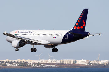 OO-TCV - Brussels Airlines Airbus A320