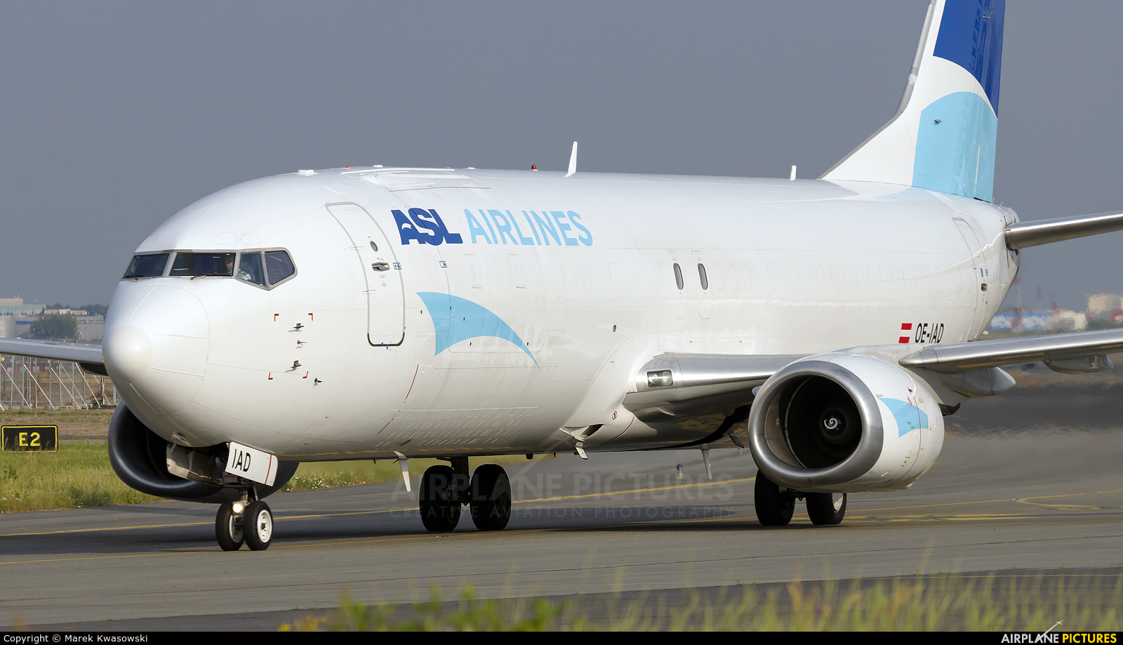 ASL Airlines Belgium OE-IAD aircraft at Warsaw - Frederic Chopin