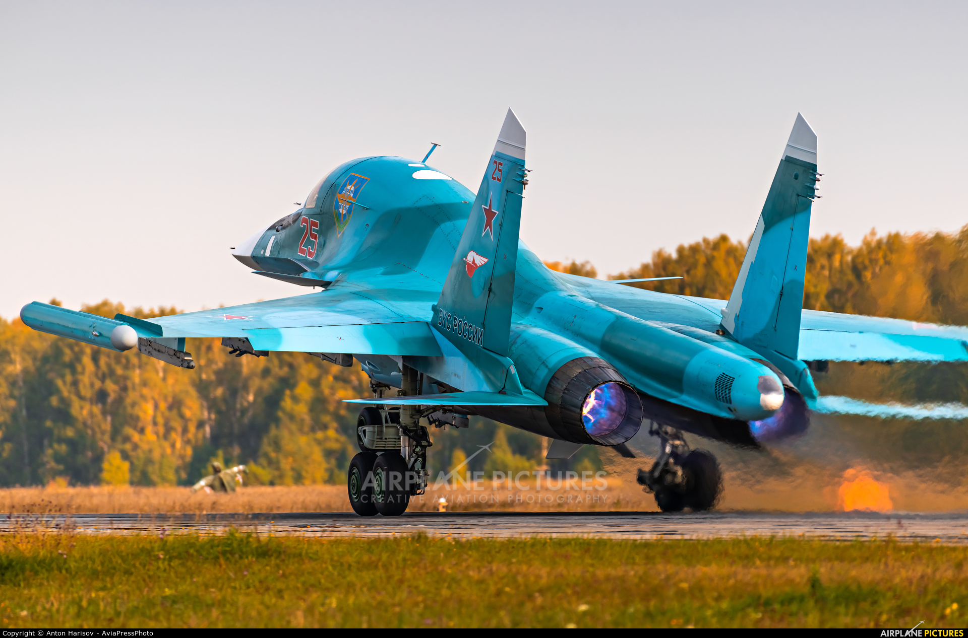 Russia - Air Force 25 aircraft at Undisclosed Location