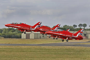 "XX244 - Royal Air Force ""Red Arrows"" British Aerospace Hawk T.1/ 1A"