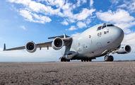 Rare visit of NATO Boeing C-17 to Tenerife Reina Sofia title=
