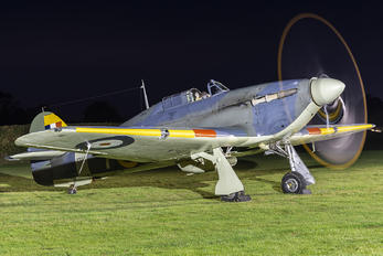 Z7015 - The Shuttleworth Collection Hawker Sea Hurricane IB