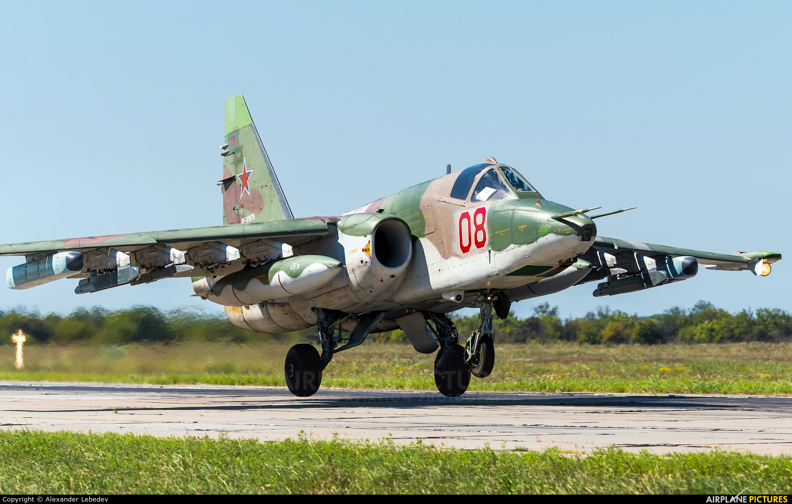 Russia - Air Force 08 aircraft at Undisclosed Location