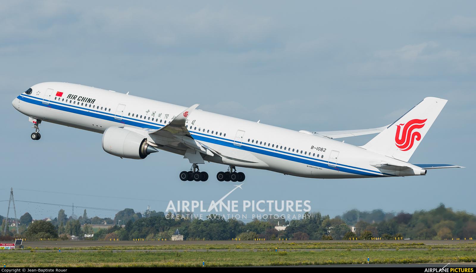 Air China B-1082 aircraft at Paris - Charles de Gaulle