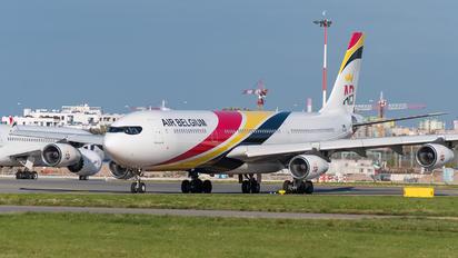 OO-ABD - Air Belgium Airbus A340-300