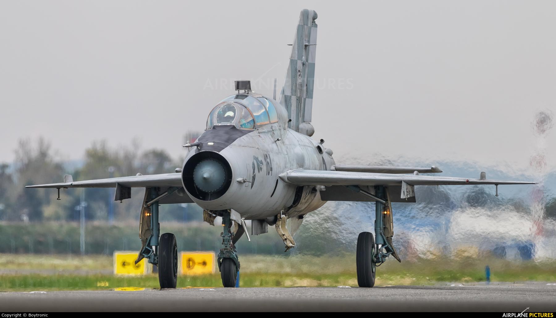 Croatia - Air Force 164 aircraft at Zagreb