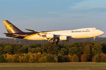 N605UP - UPS - United Parcel Service Boeing 747-8F
