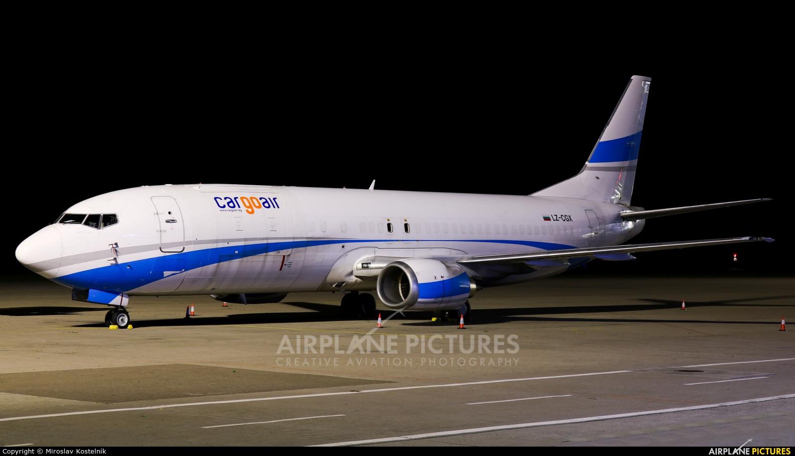 Cargo Air LZ-CGX aircraft at Ostrava Mošnov