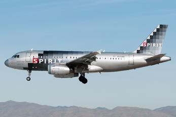 N523NK - Spirit Airlines Airbus A319