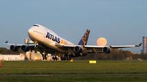 Atlas Air Boeing 747 visited Wrocław title=