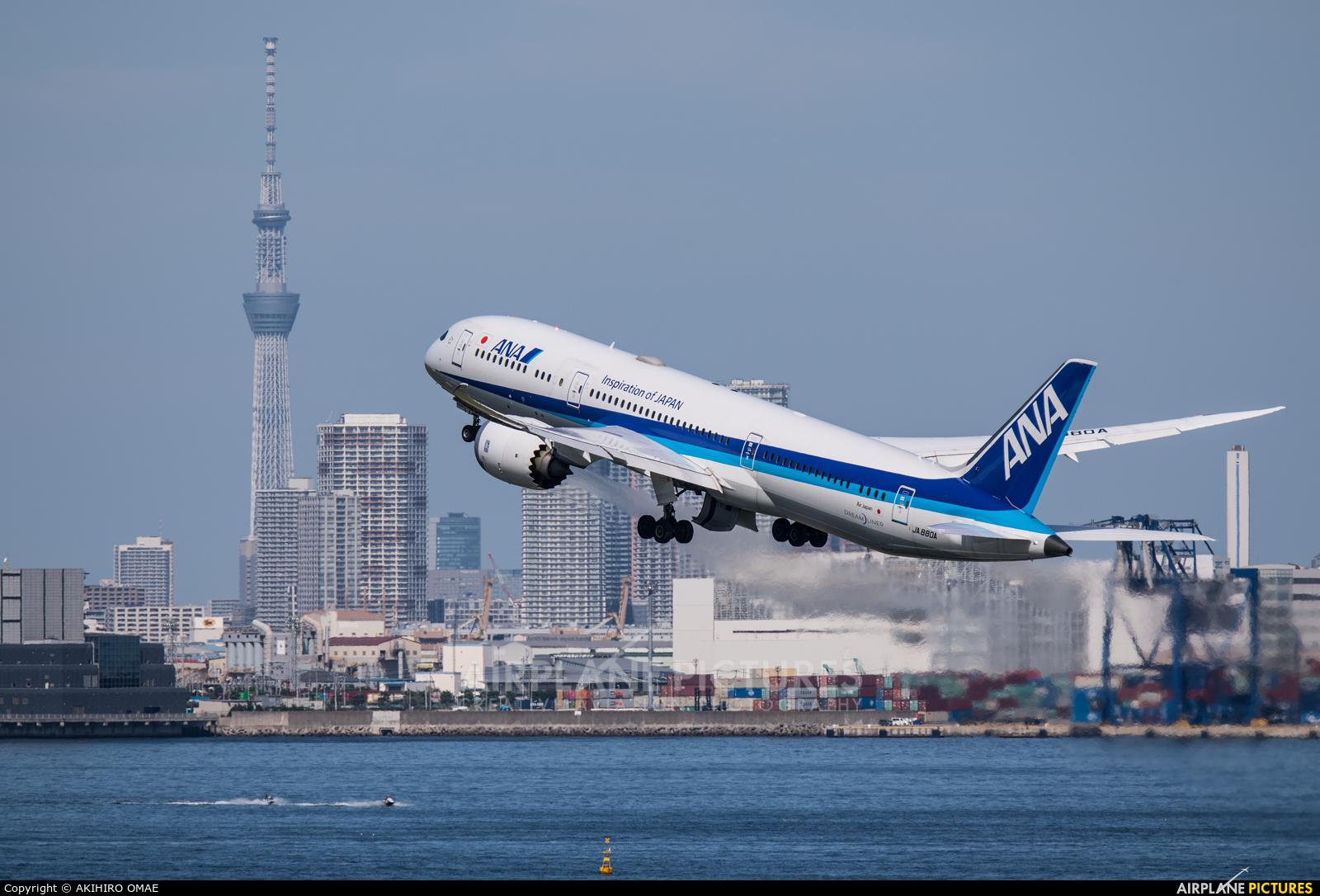 ANA - All Nippon Airways JA880A aircraft at Tokyo - Haneda Intl