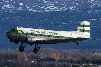 N763A - Ozark Air Lines Douglas DC-3