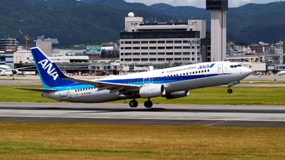 JA58AN - ANA - All Nippon Airways Boeing 737-800