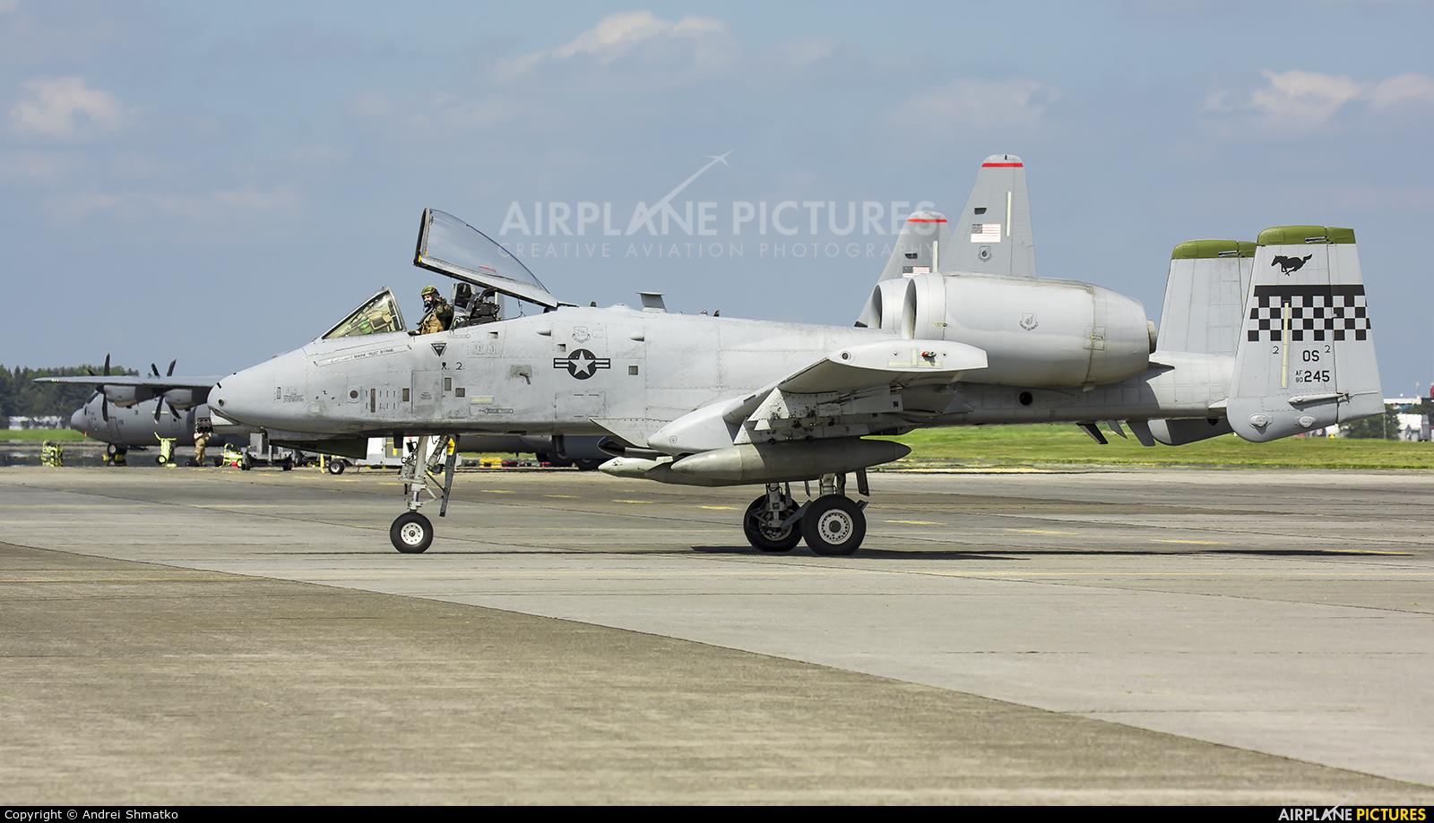 USA - Air Force 80-0245 aircraft at Yokota AB