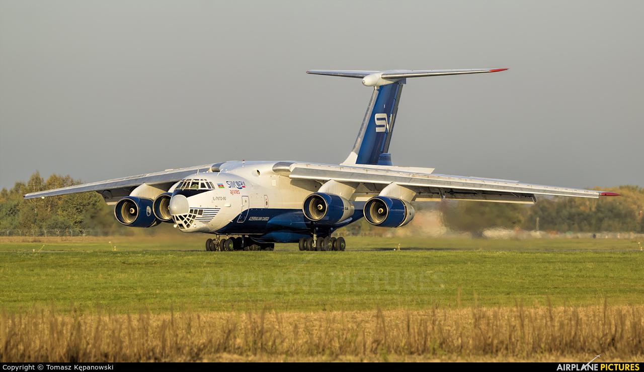 Silk Way Airlines 4K-AZ100 aircraft at Rzeszów-Jasionka