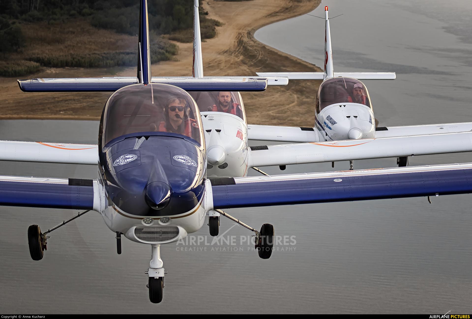 Goldwings Flight Academy SP-GDW aircraft at Piotrków Trybunalski