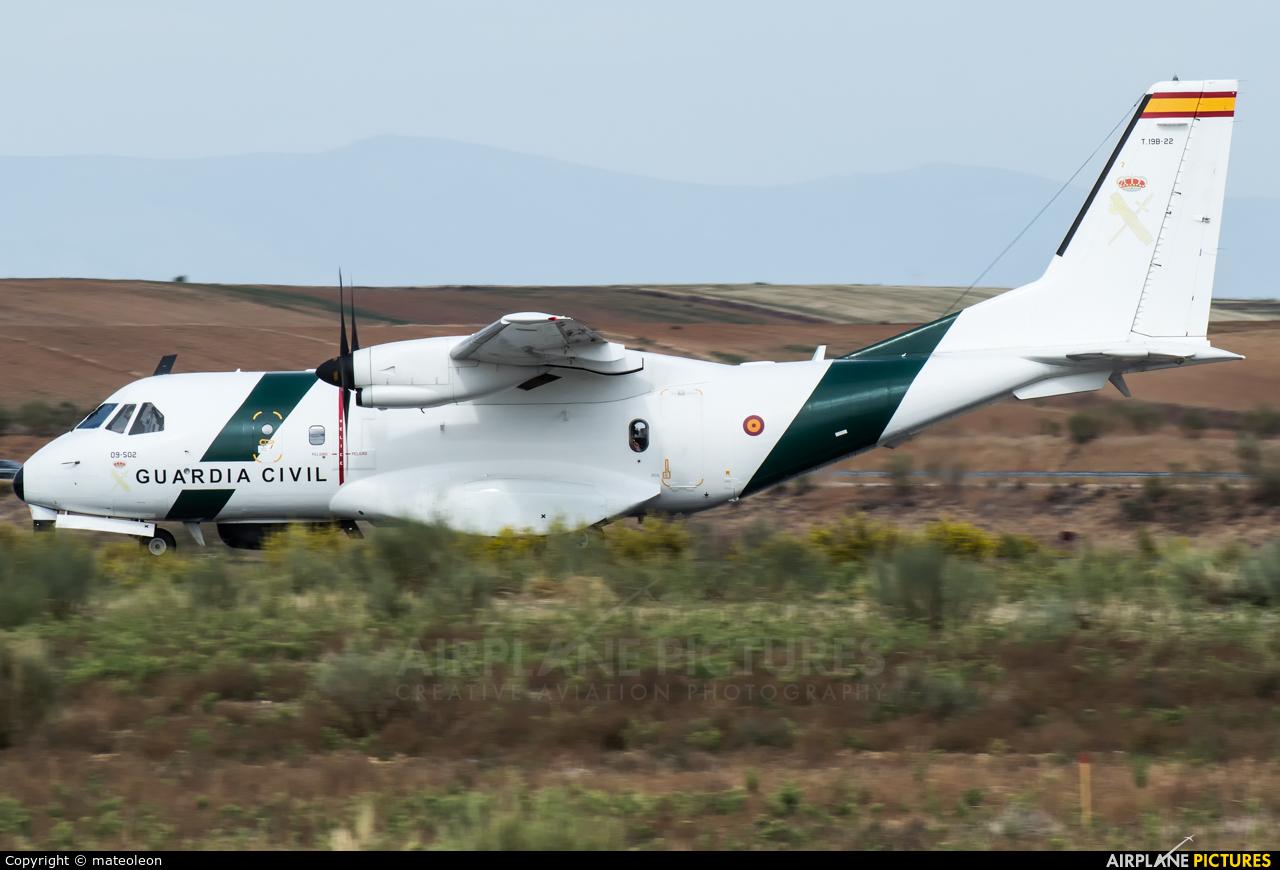 Spain - Guardia Civil T.19B-22 aircraft at Madrid - Torrejon