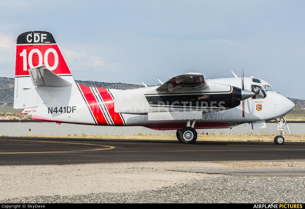 Private N441DF aircraft at Reno - Stead