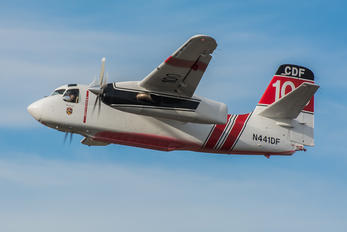N441DF - Private Grumman S-2T Turbo Tracker