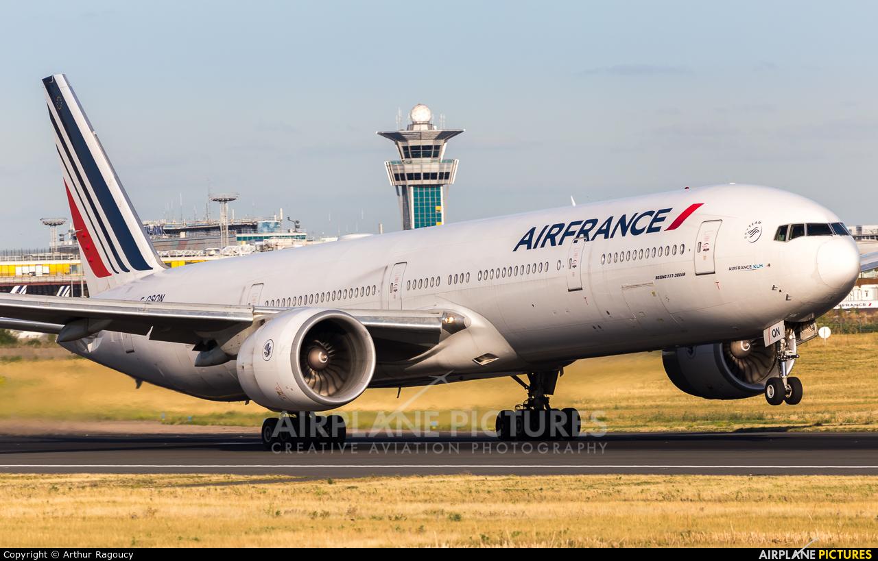 Air France F-GSQN aircraft at Paris - Orly