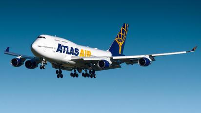 N480MC - Atlas Air Boeing 747-400