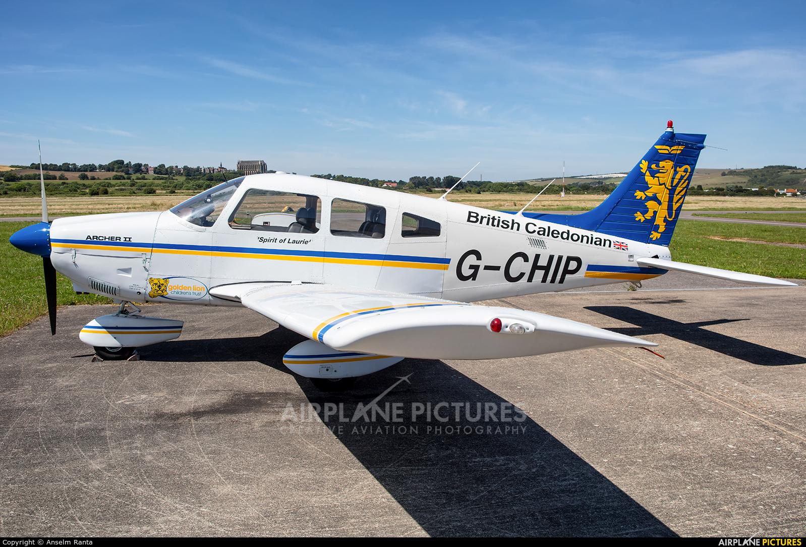 Private G-CHIP aircraft at Brighton - Shoreham