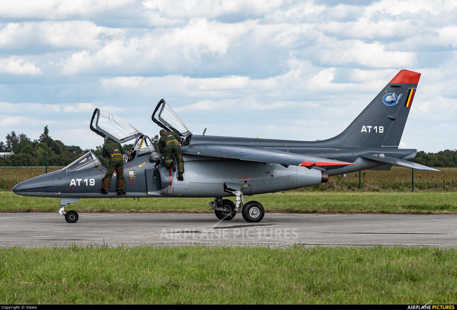 Belgium - Air Force AT19 aircraft at Ostrava Mošnov