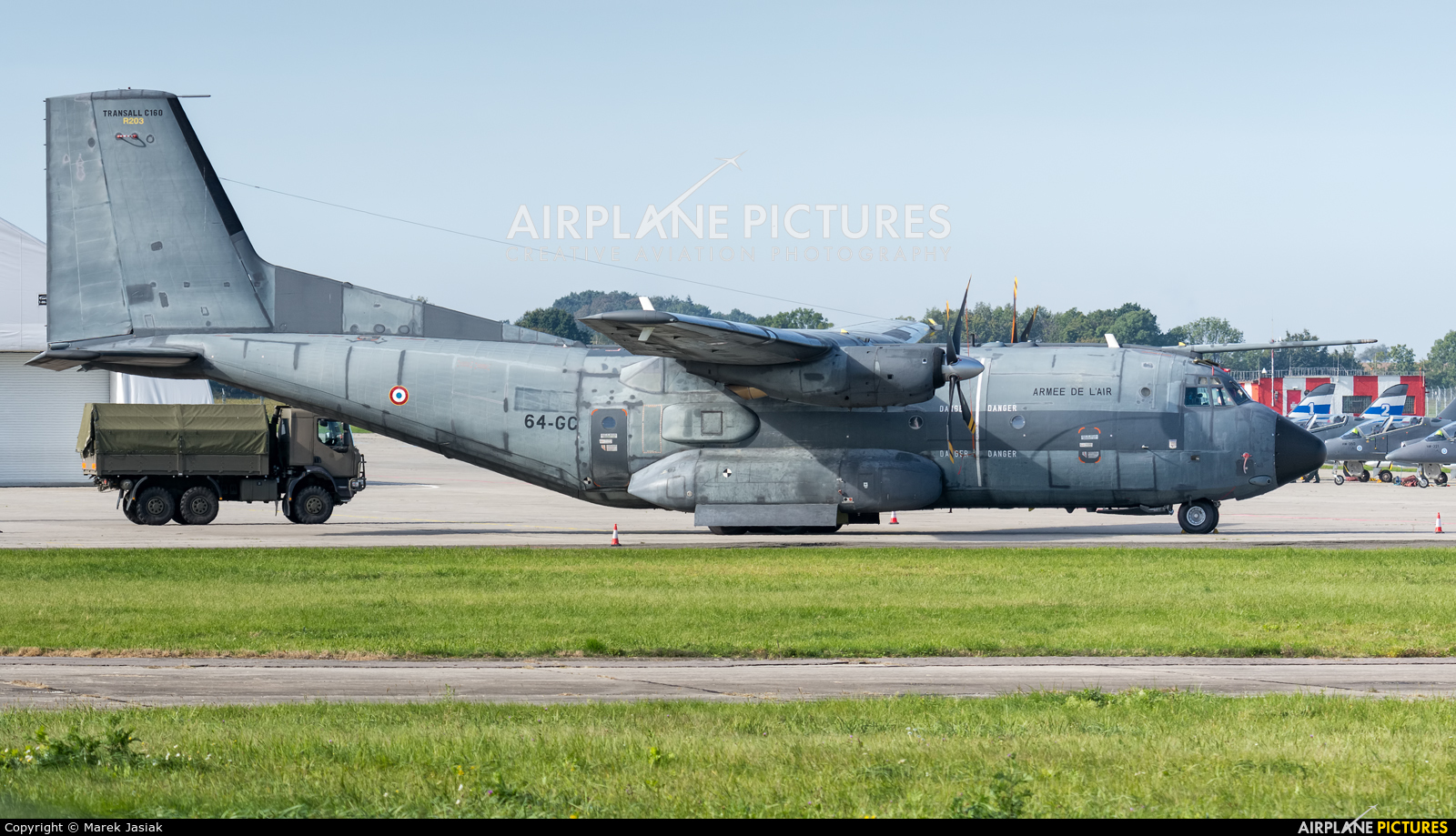 France - Air Force R203 aircraft at Ostrava Mošnov