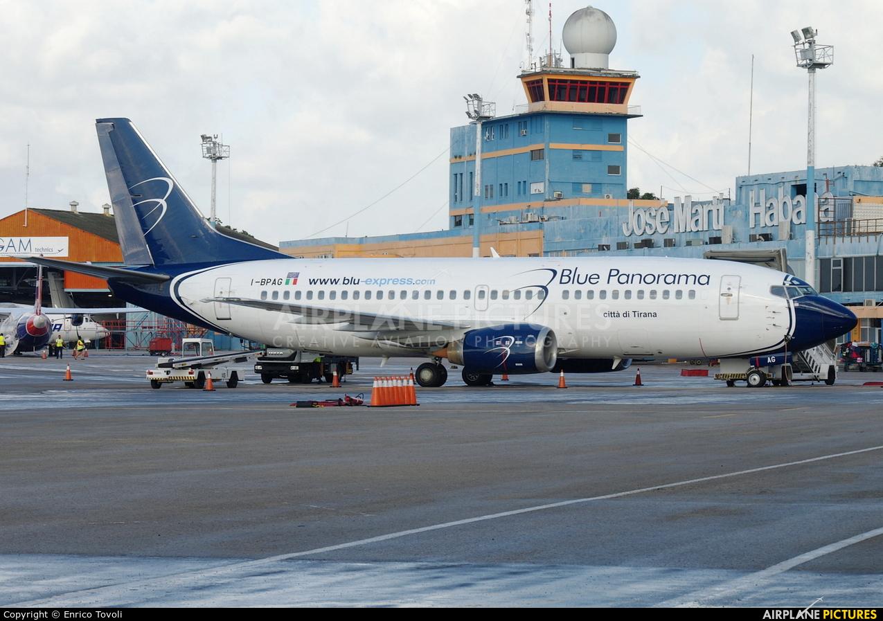 Blu Express I-BPAG aircraft at Havana - José Martí Intl