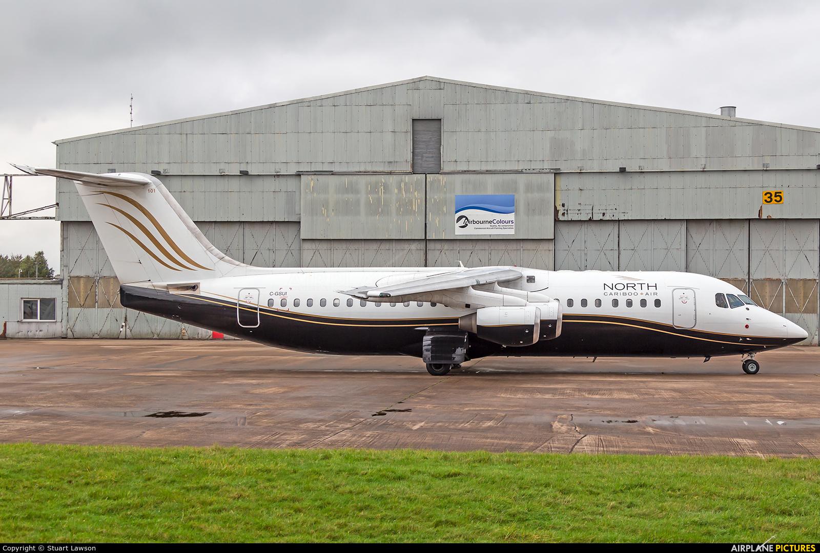 North Cariboo Air C-GSUI aircraft at East Midlands