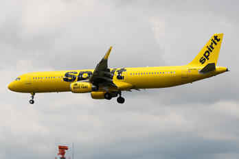 N687NK - Spirit Airlines Airbus A321