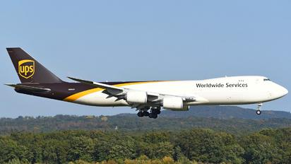 N612UP - UPS - United Parcel Service Boeing 747-8F