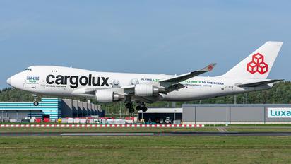 LX-ECV - Cargolux Boeing 747-400F, ERF