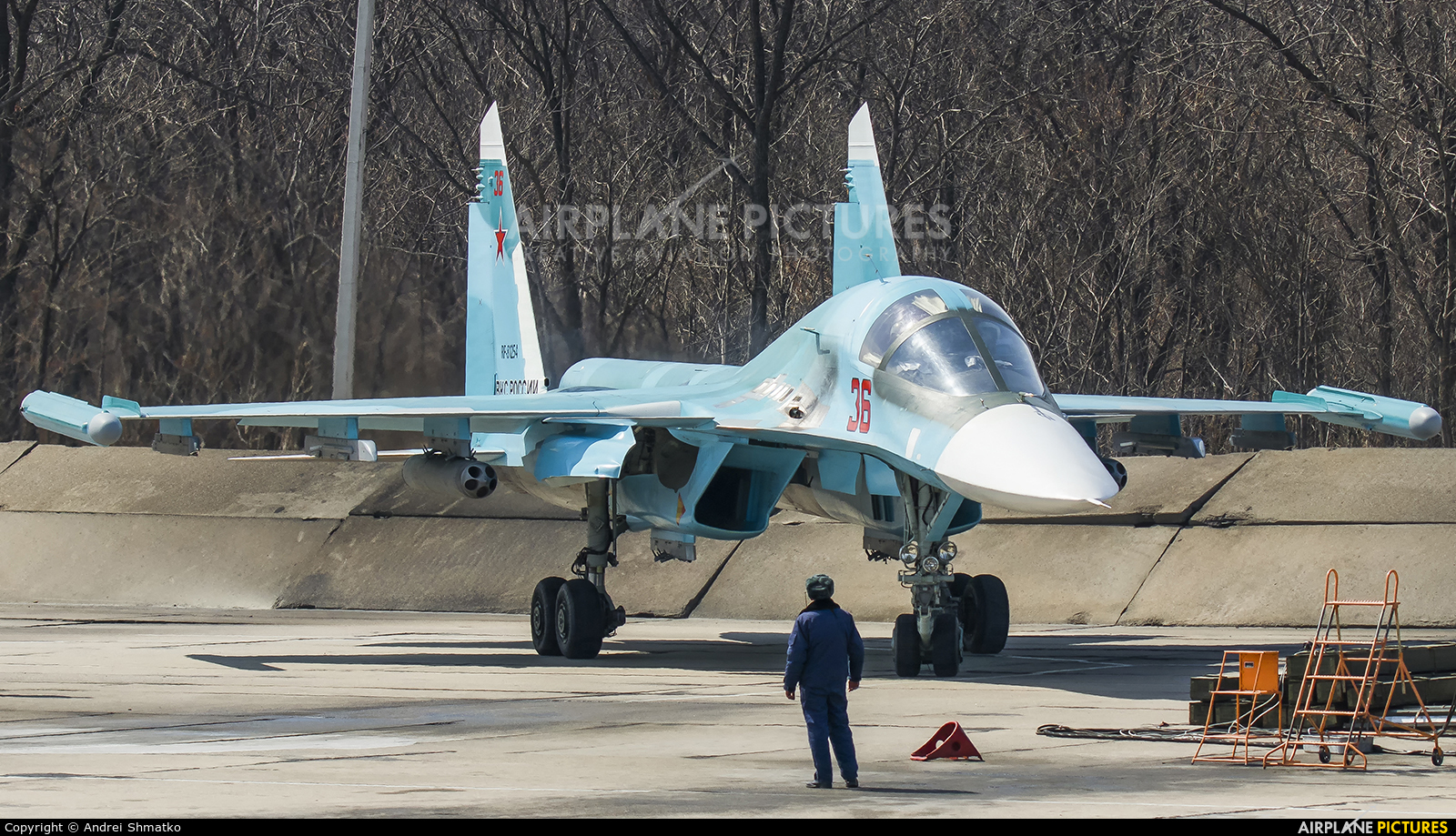 Russia - Air Force RF-81254 aircraft at Undisclosed Location
