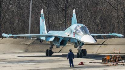 RF-81254 - Russia - Air Force Sukhoi Su-34
