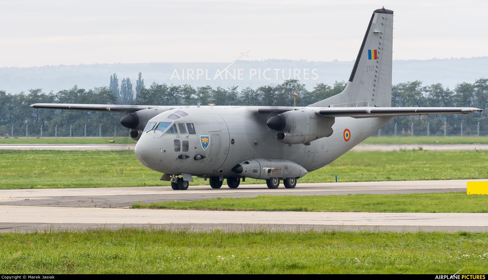 Romania - Air Force 2707 aircraft at Ostrava Mošnov