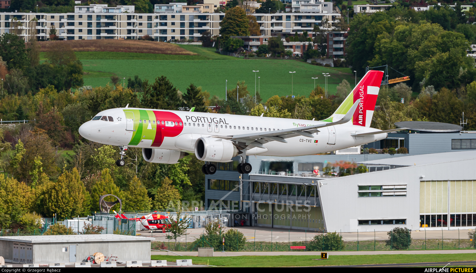 TAP Portugal CS-TVC aircraft at Zurich
